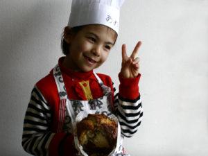 子供たちの料理教室