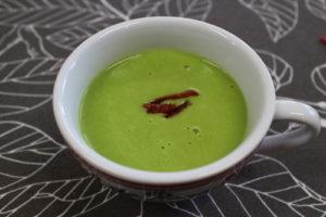 グリンピースのぽったりスープ