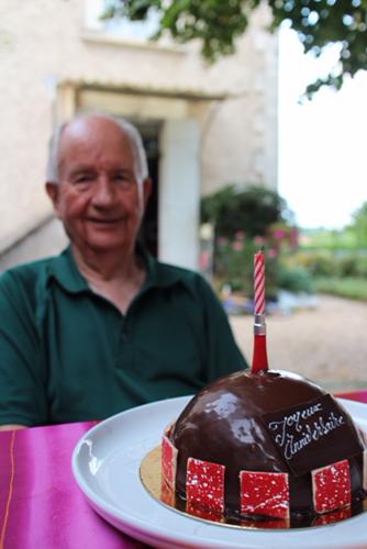 フランス滞在と義父の誕生日