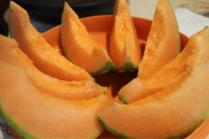 夏の前菜 メロン