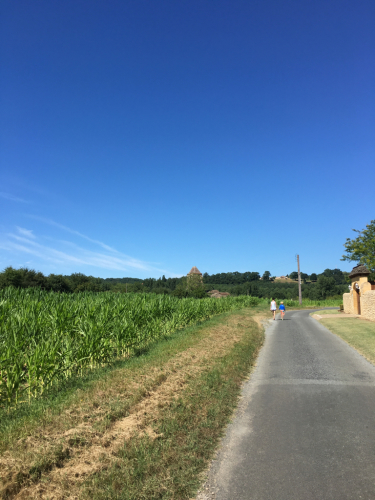 2016年フランス 夏の空
